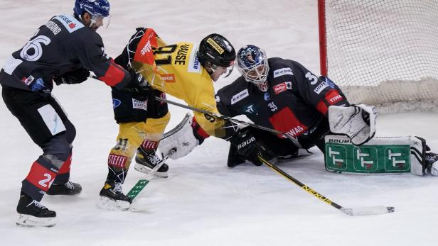 Eishockey: Die Aufholjagd der Vienna Capitals blieb unbelohnt