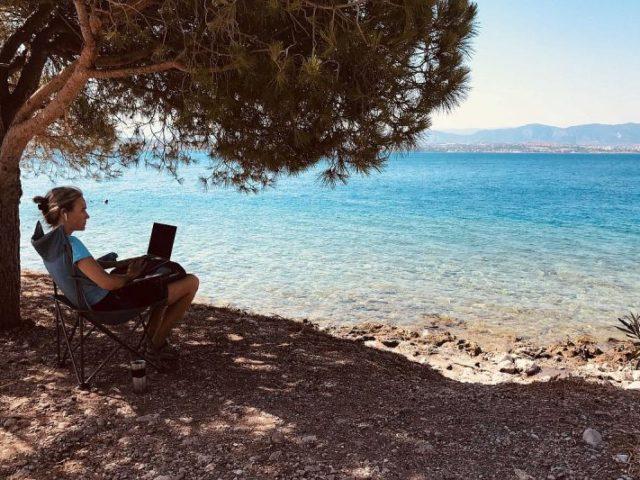 Homeoffice am Strand: Digitale Nomaden als Vorreiter